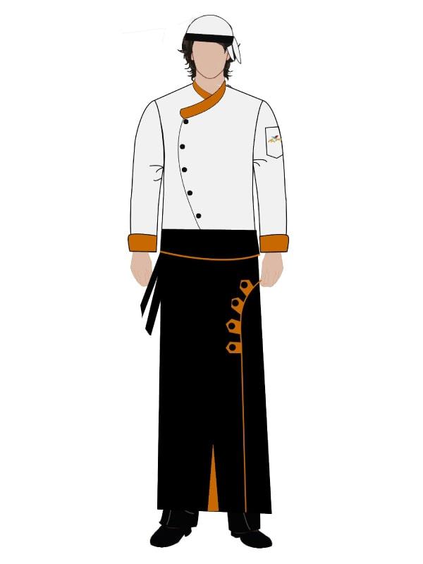 Aşçı Üniforması 121