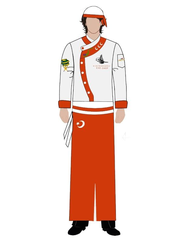 Aşçı Üniforması 89