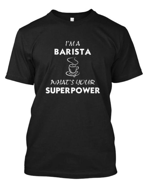 Barista Tişört 5