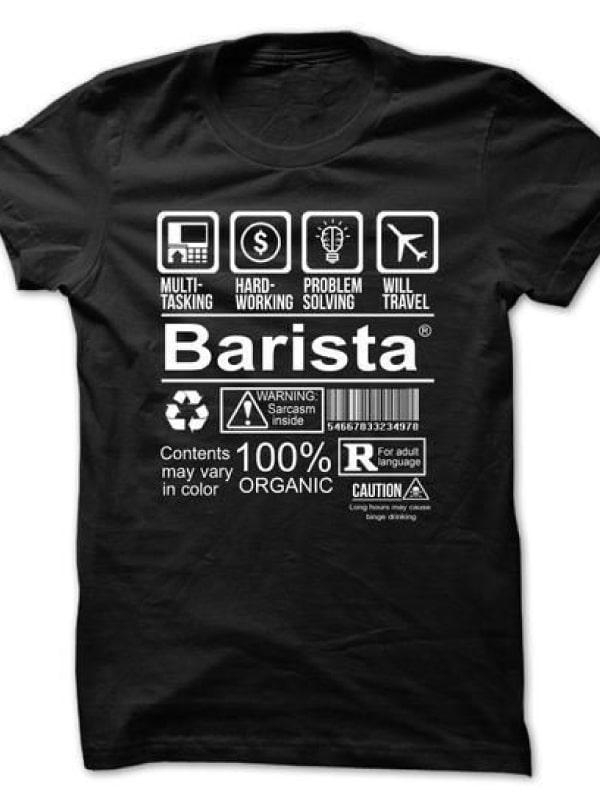 Barista Tişört 7